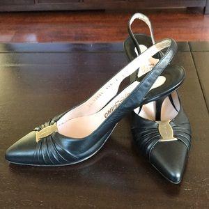 Ferragamo Slingback heels